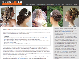 The Big Hair Day website