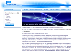 e-Synergy website